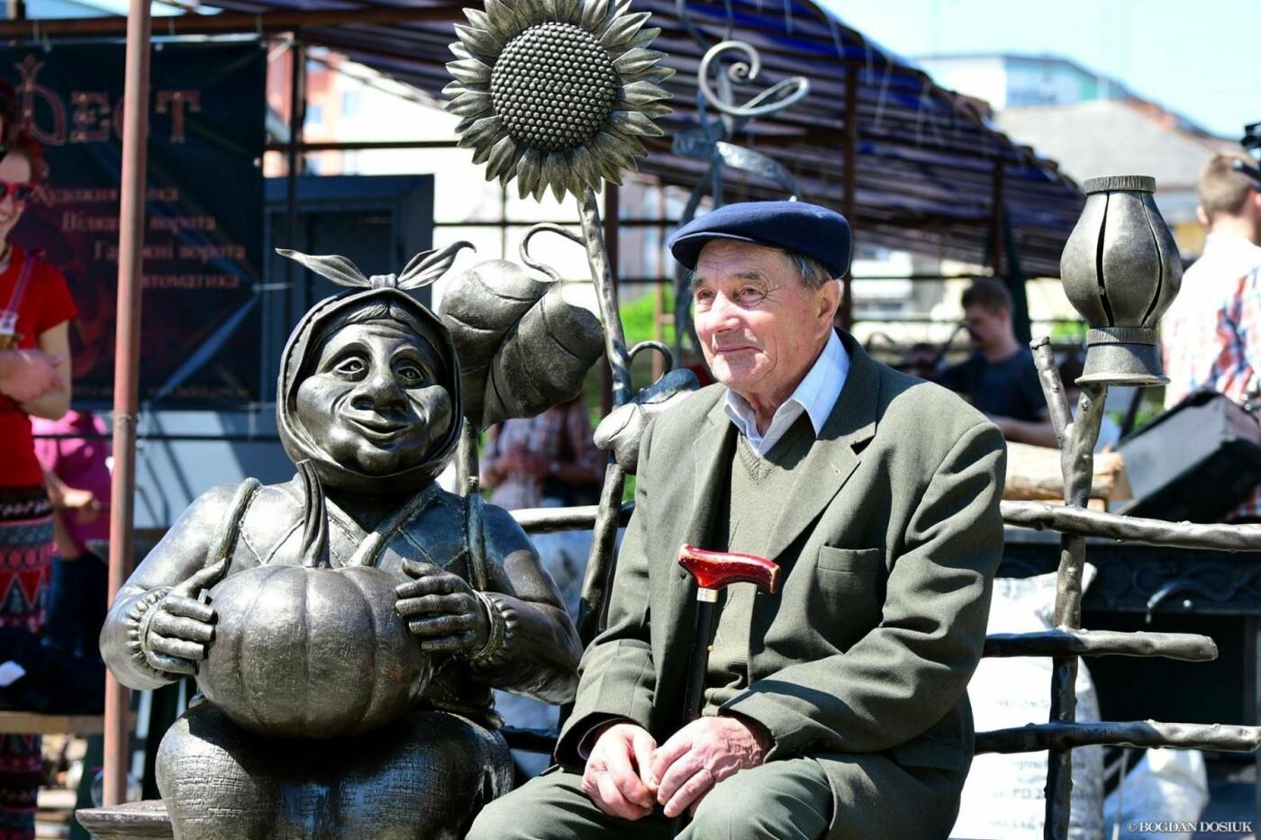 В Івано-Франківську розпочалось свято ковалів. Місто матиме ще одну ковану скульптуру. ФОТО, фото-5