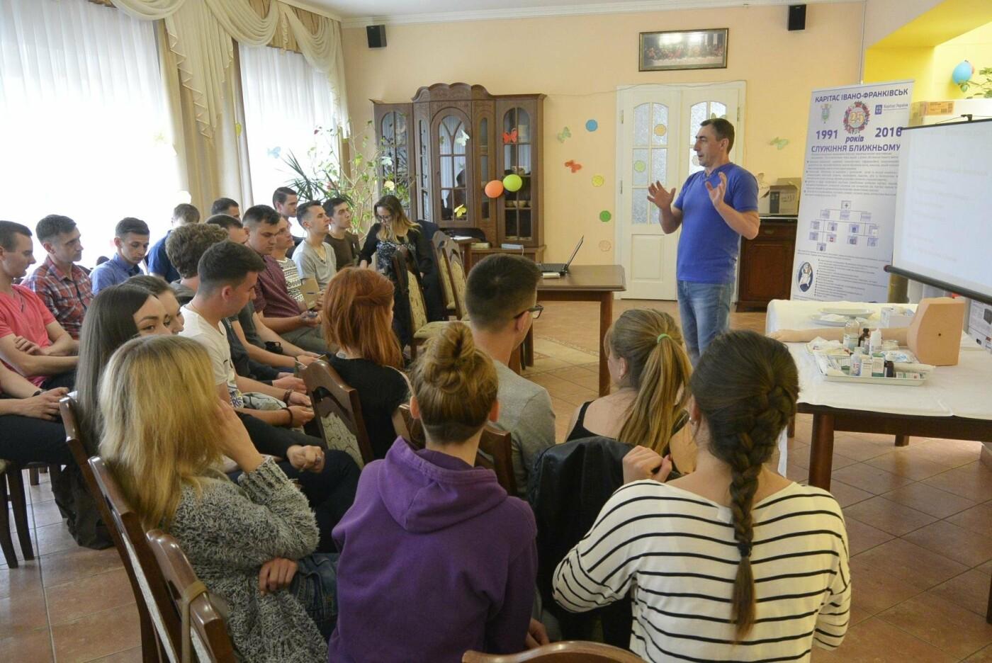 Франківський Карітас проводить навчальні тренінги для волонтерів. ФОТО, фото-3
