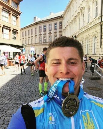 Прикарпатець пробіг марафон вулицями Праги. ФОТО, фото-1