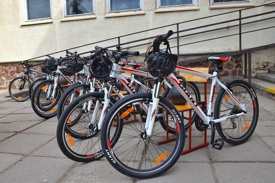 Учнівський велоклуб: одній зі шкіл Франківська подарували велосипеди. ФОТО, фото-1