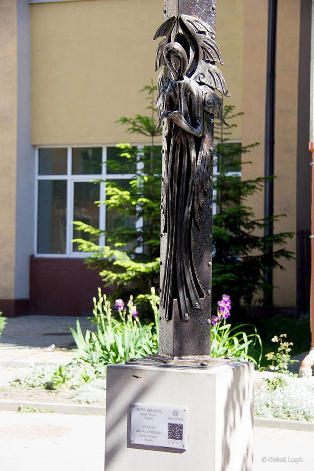 Івано-Франківськ тепер має власного янгола-охоронця. ФОТО, фото-1