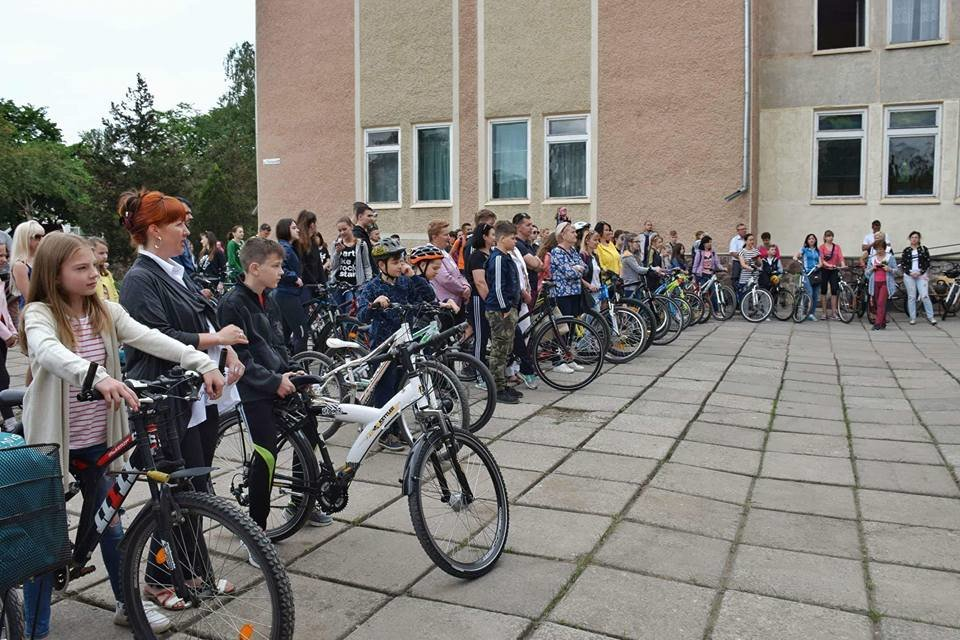 Учнівський велоклуб: одній зі шкіл Франківська подарували велосипеди. ФОТО, фото-2