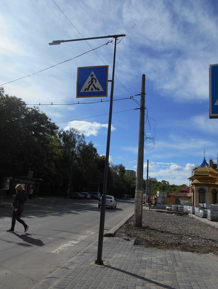 Що на узбіччях? У Франківську - нові зупинки і освітлені пішохідні переходи. ФОТО, фото-5