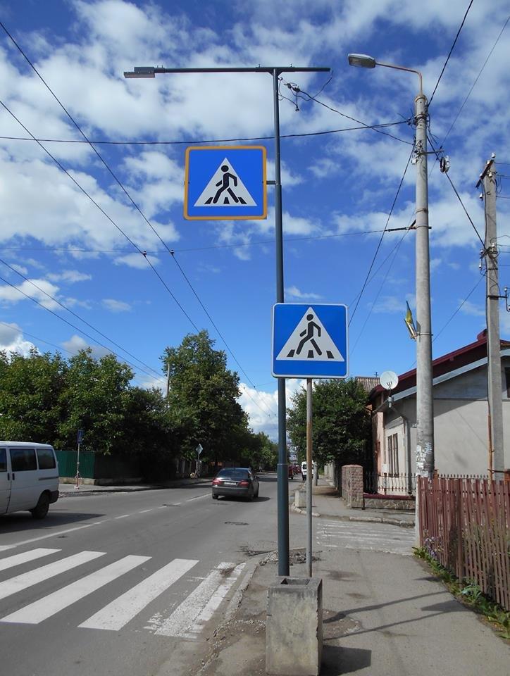 Що на узбіччях? У Франківську - нові зупинки і освітлені пішохідні переходи. ФОТО, фото-6