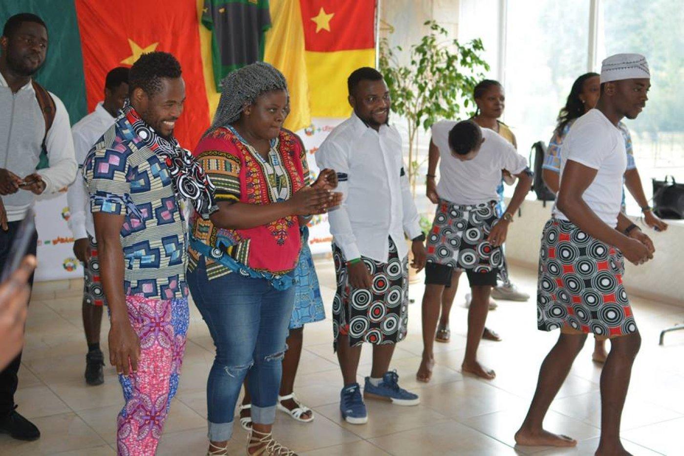 Камерун - у франківському університеті: спорт, кухня і традиції. ФОТО, фото-4