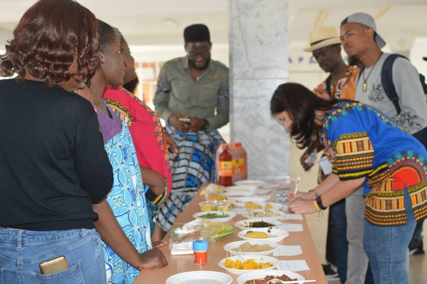 Камерун - у франківському університеті: спорт, кухня і традиції. ФОТО, фото-1