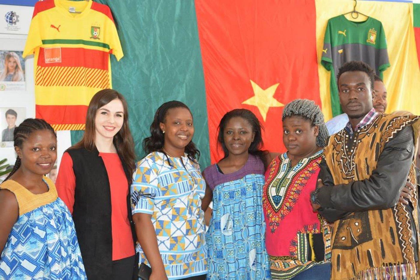 Камерун - у франківському університеті: спорт, кухня і традиції. ФОТО, фото-7