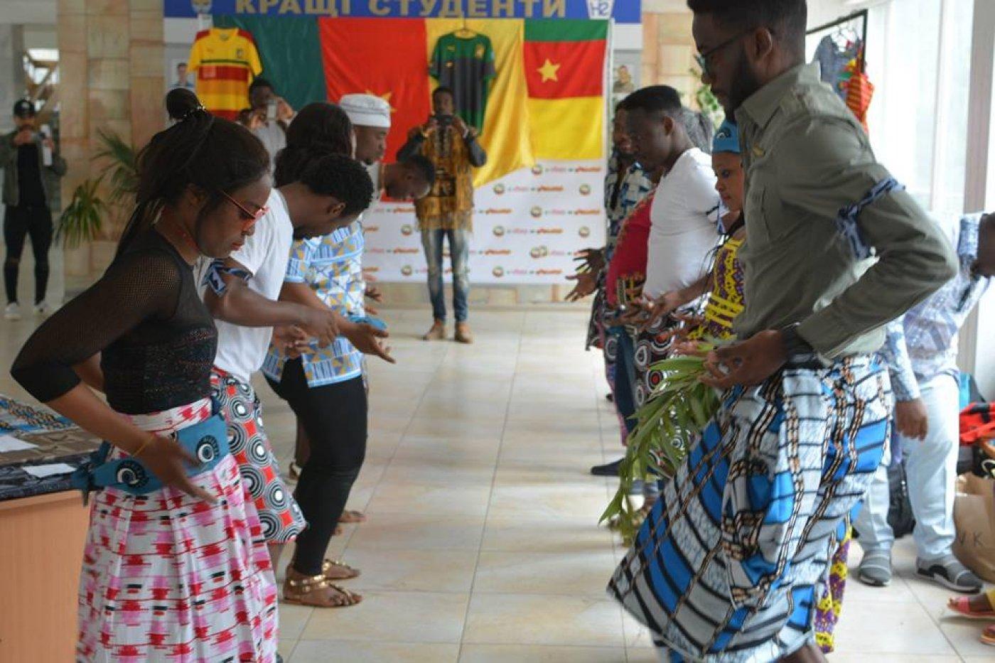 Камерун - у франківському університеті: спорт, кухня і традиції. ФОТО, фото-6