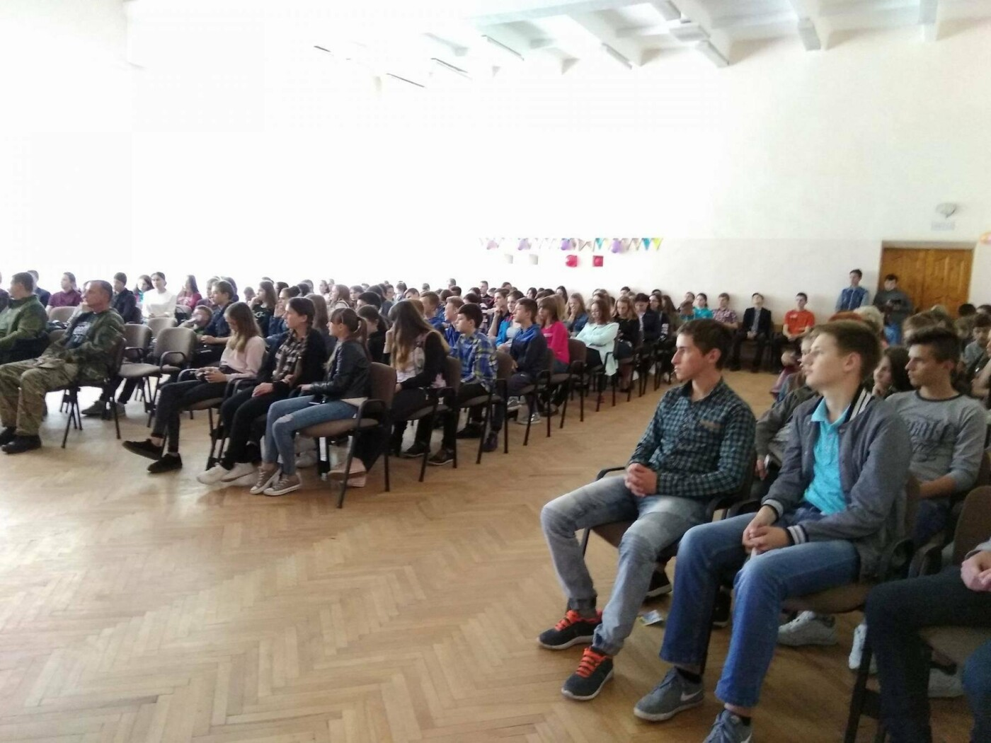 На Прикарпатті тривають презентації табору «Юний доброволець». ФОТО, фото-2