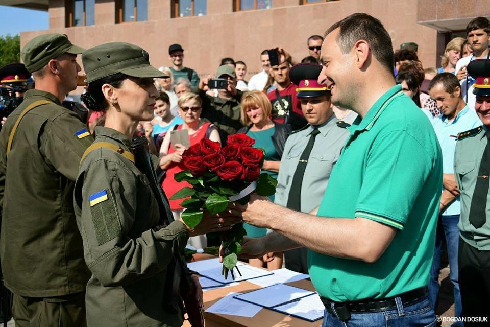 127 Нацгвардійців у Франківську урочисто присягнули на вірність Україні. ФОТО, фото-8