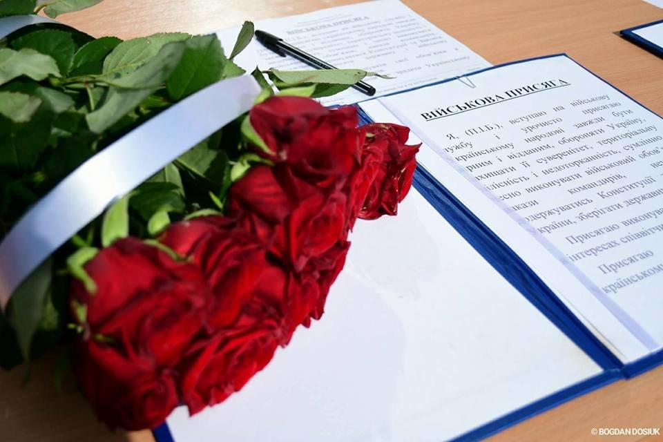 127 Нацгвардійців у Франківську урочисто присягнули на вірність Україні. ФОТО, фото-12