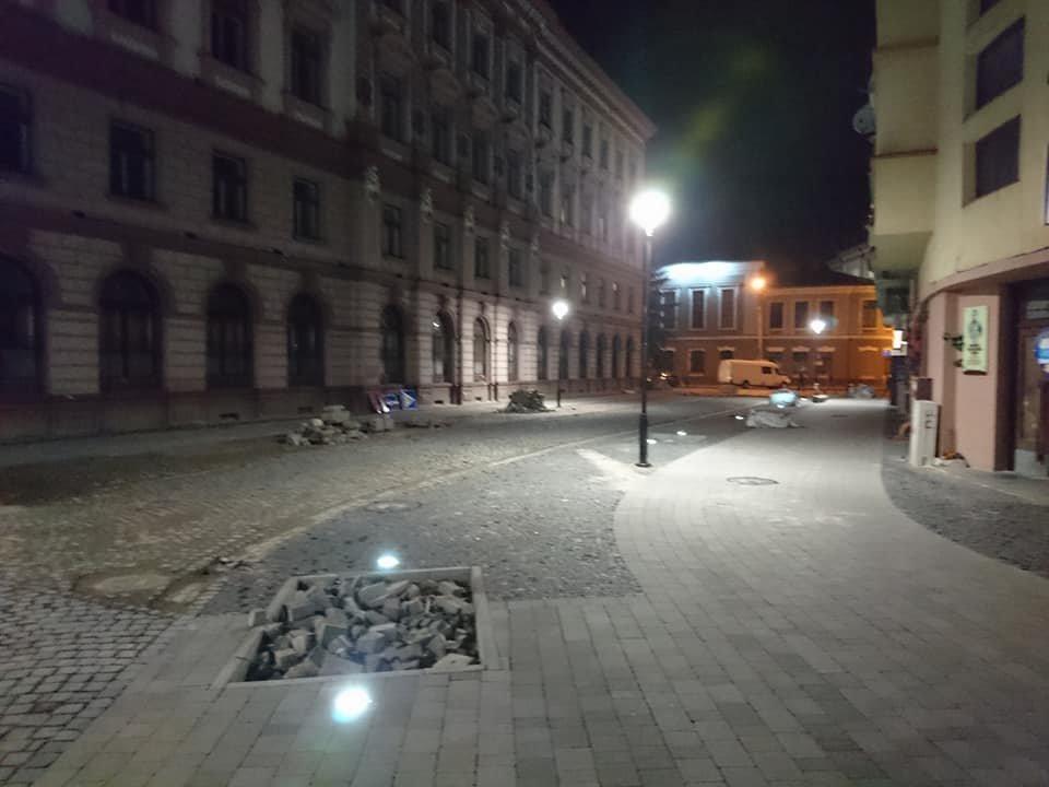 На вулиці Лесі Українки у Франківську увечері світять нові ліхтарі. ФОТО, фото-6