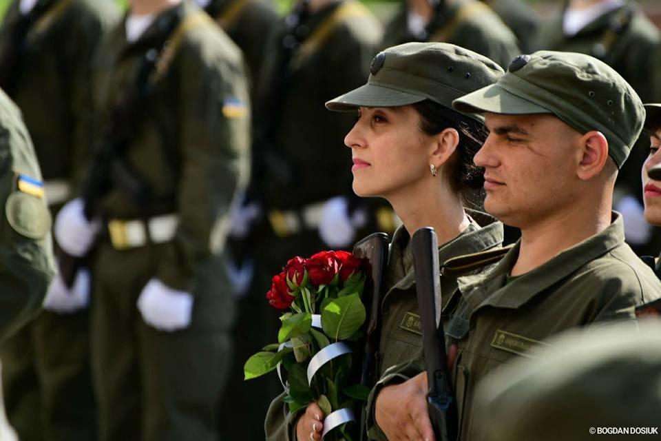127 Нацгвардійців у Франківську урочисто присягнули на вірність Україні. ФОТО, фото-1