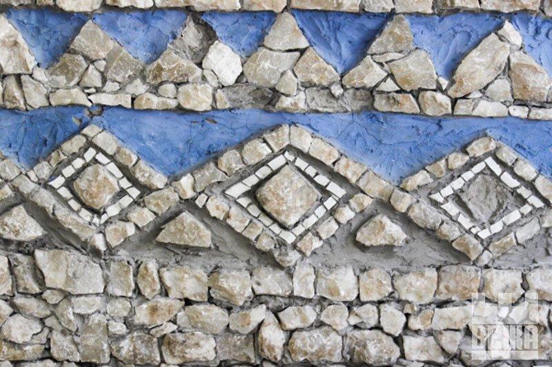 Кам'яне багатство. Франківська мозаїка Опанаса Заливахи у деталях. ФОТО, фото-2