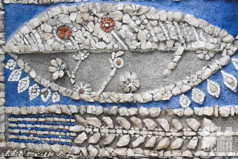 Кам'яне багатство. Франківська мозаїка Опанаса Заливахи у деталях. ФОТО, фото-3