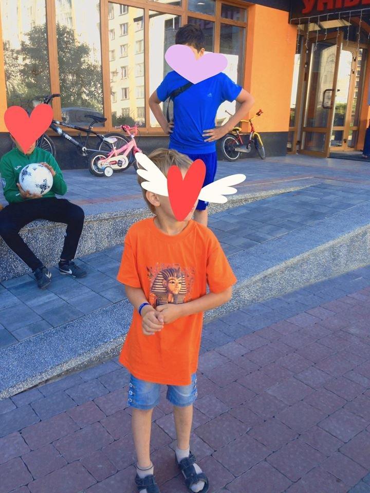 Будь, як Ігор Михайлович: у Франківську хлопчик викликав поліцію, бо на нього вилили воду. ФОТОФАКТ, фото-1