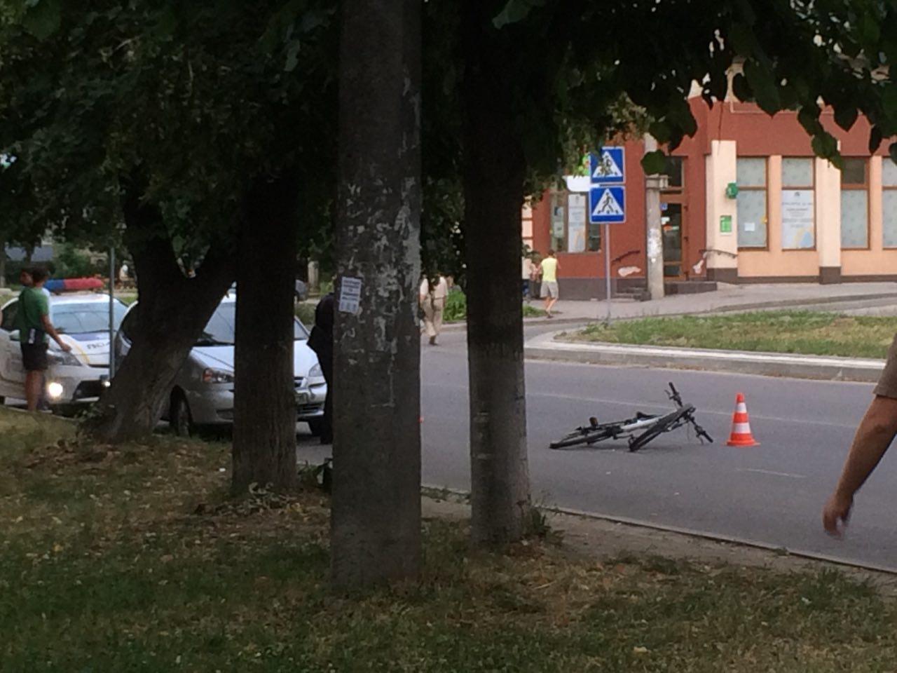 Збили велосипедиста. ФОТО, фото-1