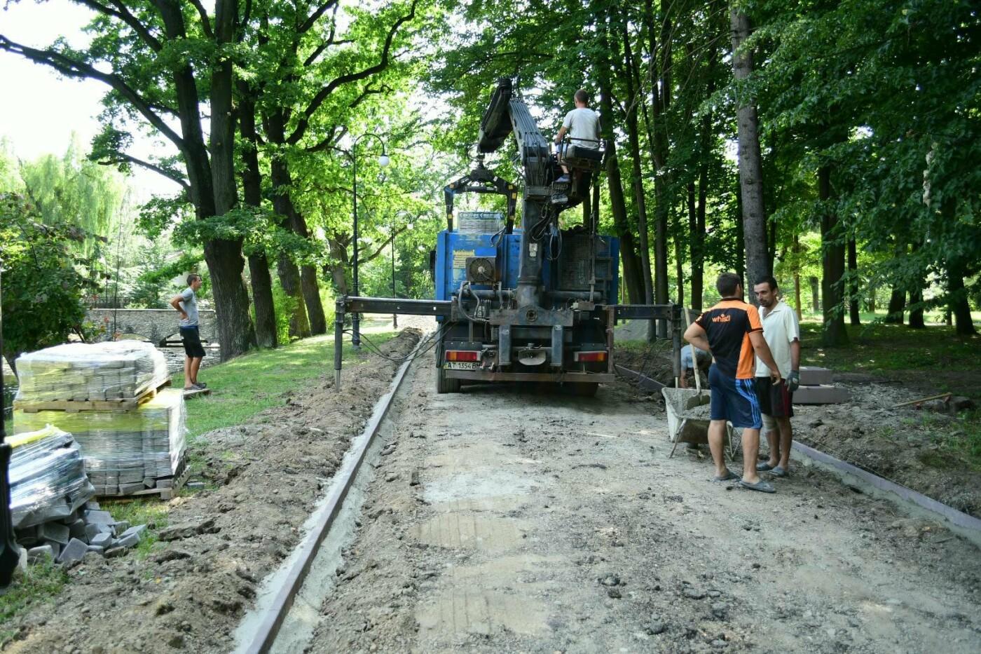 В парку Шевченка доробляють віддалені куточки. ФОТО, фото-3