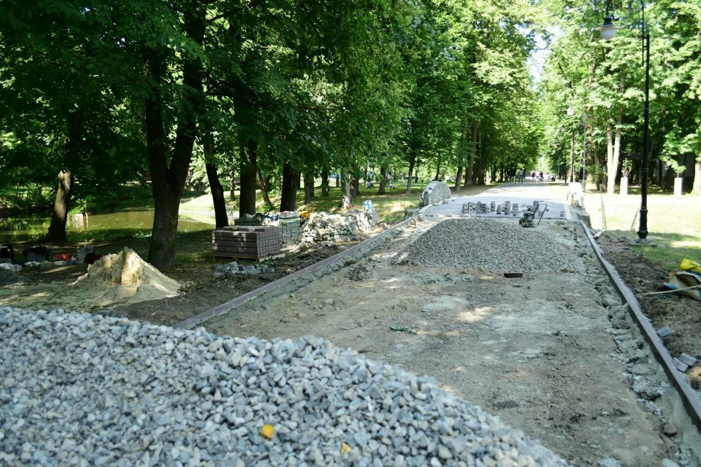 В парку Шевченка доробляють віддалені куточки. ФОТО, фото-1
