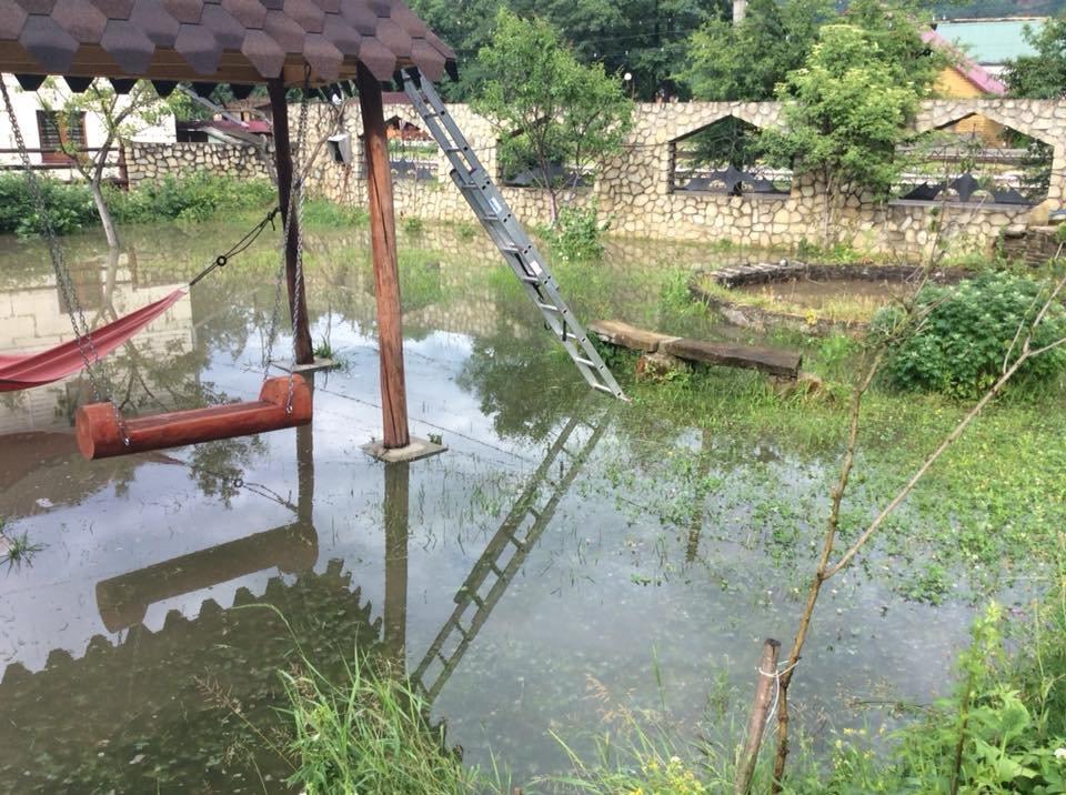 """Після зливи на Прикарпатті """"попливли"""" і людські обійстя. ФОТО, фото-4"""