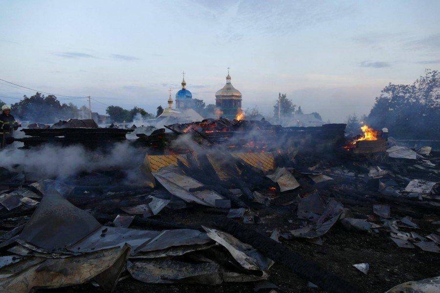 На Прикарпатті повністю вигоріла церква. ФОТО. ВІДЕО. ОНОВЛЕНО, фото-3