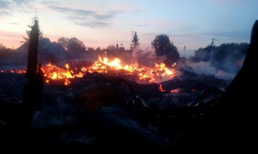 На Прикарпатті повністю вигоріла церква. ФОТО. ВІДЕО. ОНОВЛЕНО, фото-1