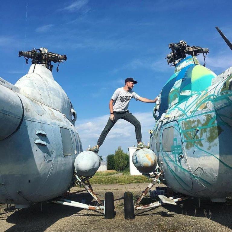 Місто-повітряний порт: де у Франківську можна побачити справжні гелікоптери. ФОТО, фото-3