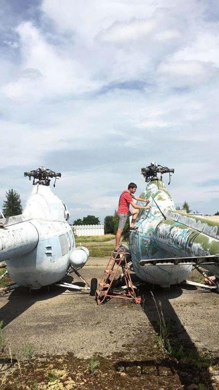 Місто-повітряний порт: де у Франківську можна побачити справжні гелікоптери. ФОТО, фото-4