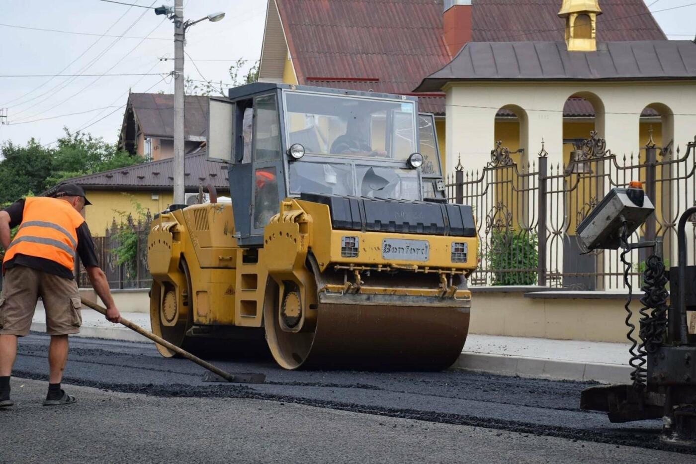 Завершується капітальний ремонт вулиці Княгинин. ФОТО, фото-4