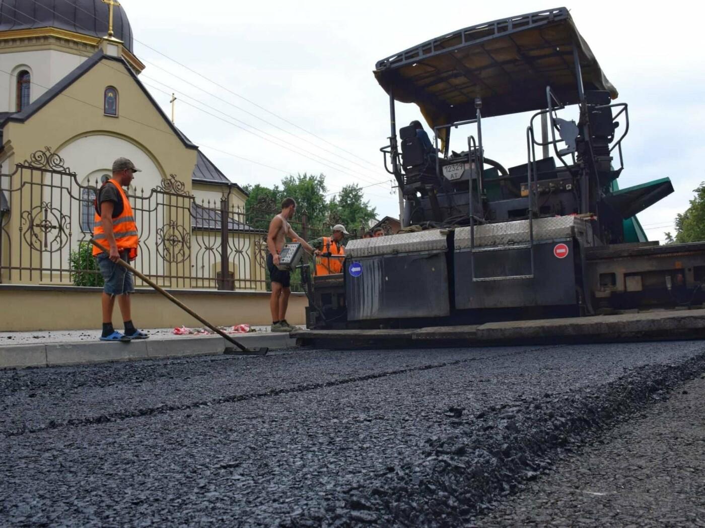 Завершується капітальний ремонт вулиці Княгинин. ФОТО, фото-2