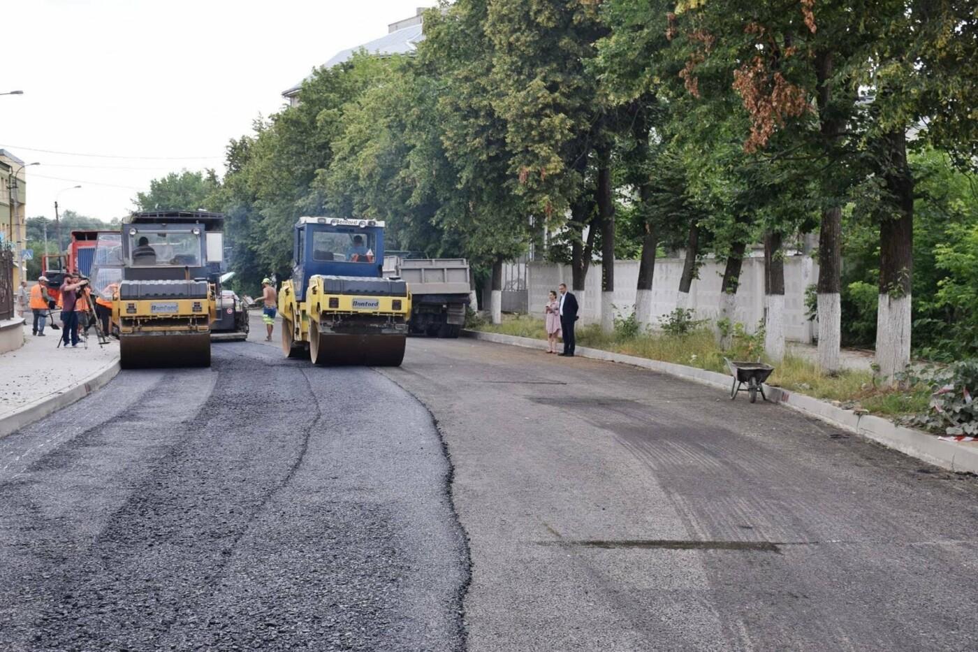 Завершується капітальний ремонт вулиці Княгинин. ФОТО, фото-7
