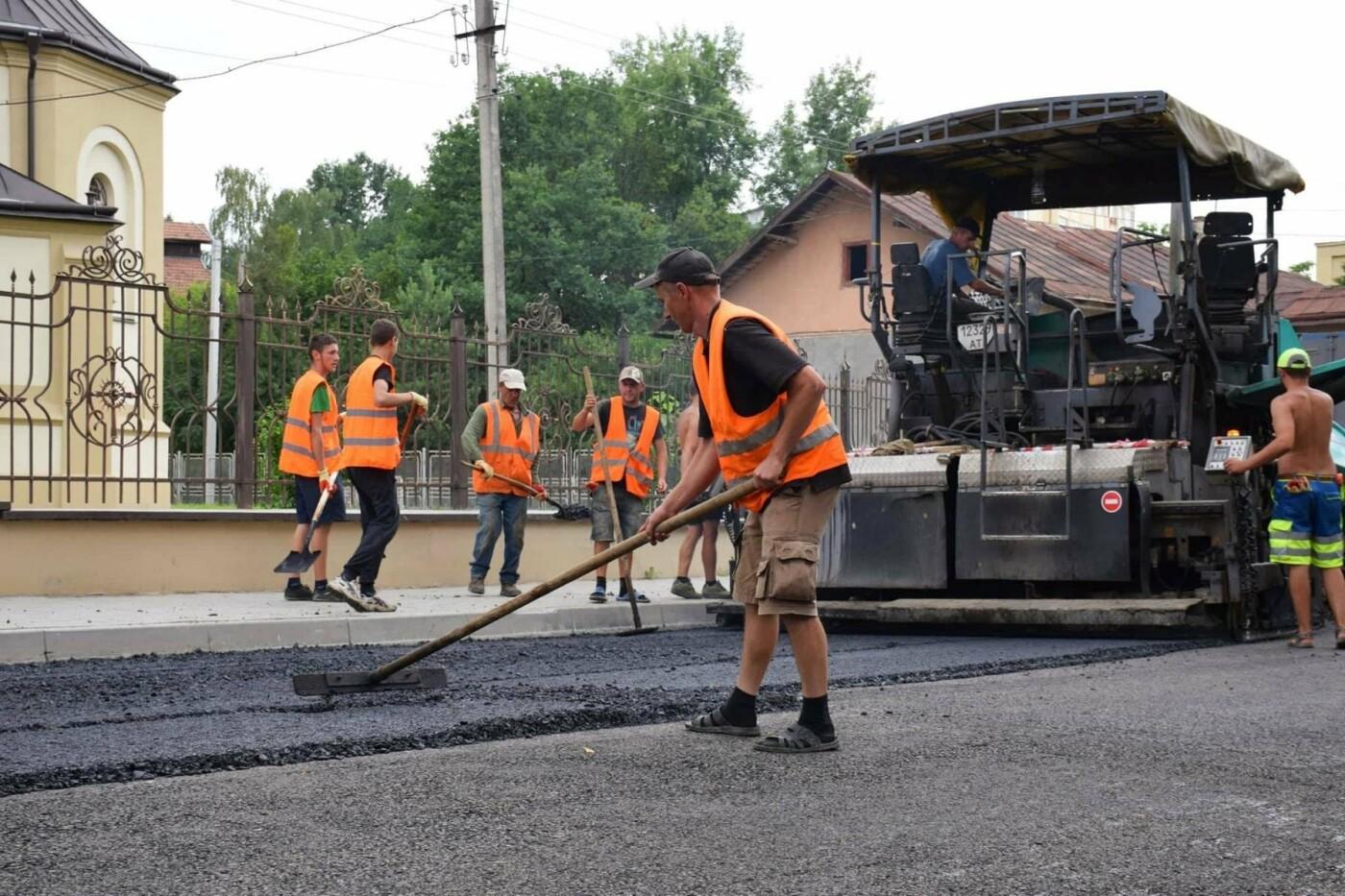 Завершується капітальний ремонт вулиці Княгинин. ФОТО, фото-5