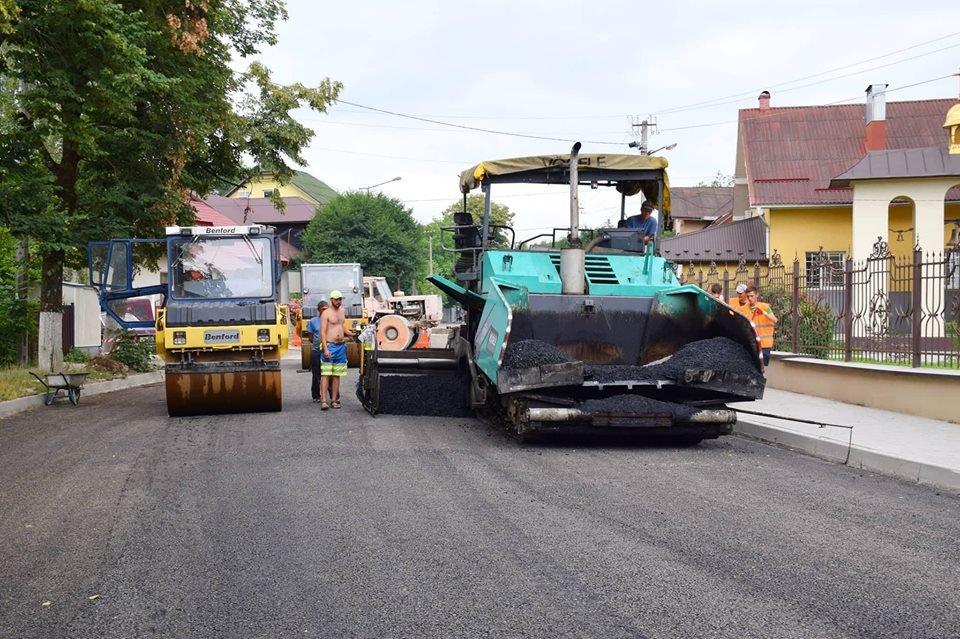 Завершується капітальний ремонт вулиці Княгинин. ФОТО, фото-1