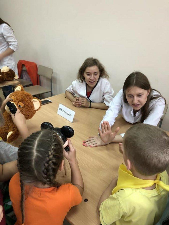 Діти у франківському таборі лікували...ведмежат. ФОТО, фото-2