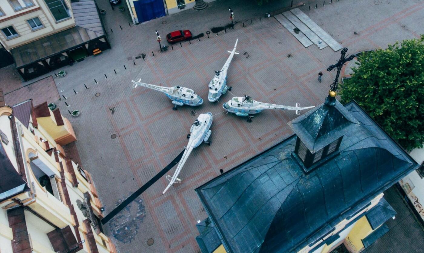 Повітряний порт: франківські гелікоптери з висоти. ФОТО, фото-4