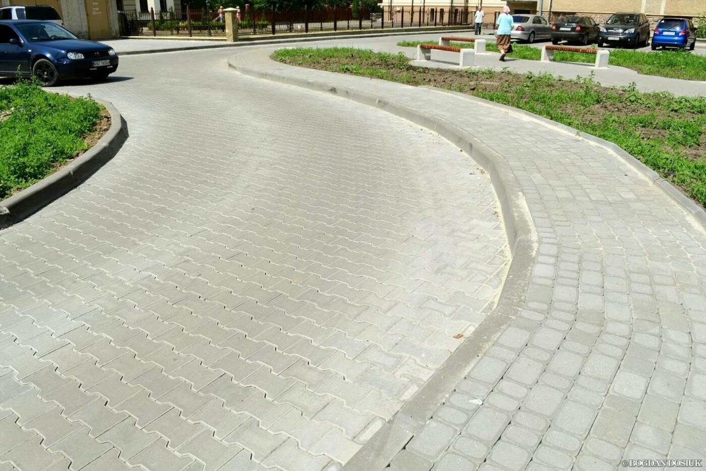 До міської поліклініки №1 тепер можна дістатися новими доріжками. ФОТО, фото-4
