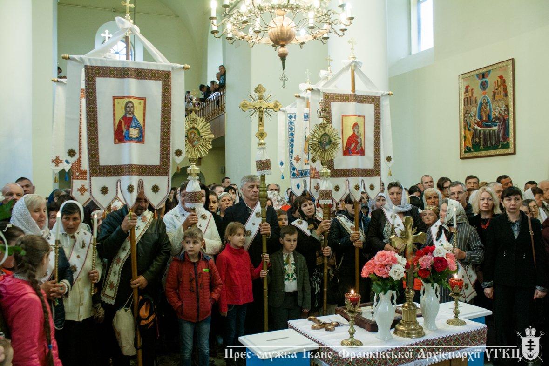 У Крилосі зібралися паломники з усієї Івано-Франківщини. ФОТО, фото-4