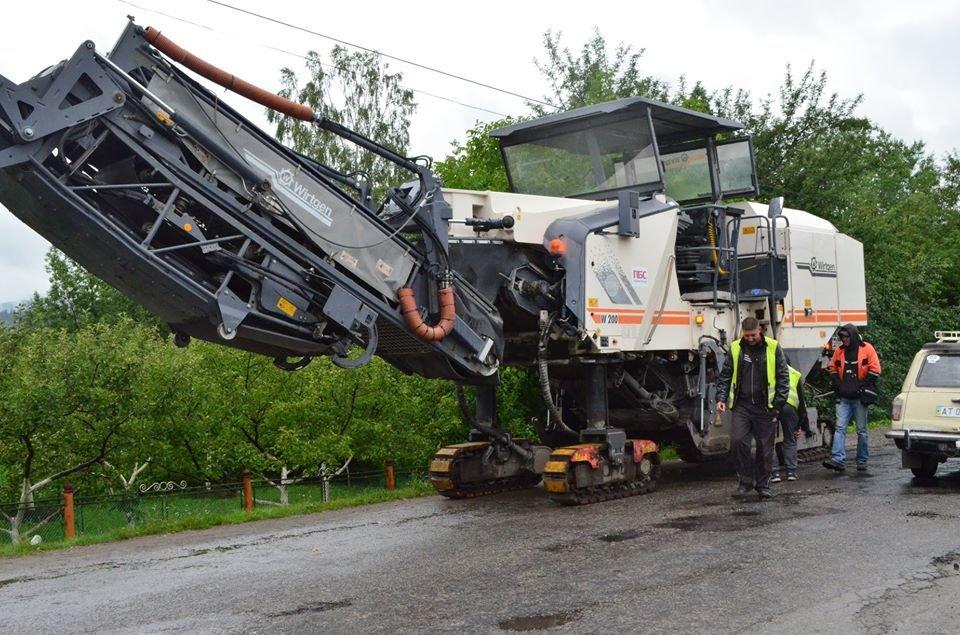 Дієвий протест: розпочали ремонт дороги Яблунів-Делятин. ФОТО, фото-5