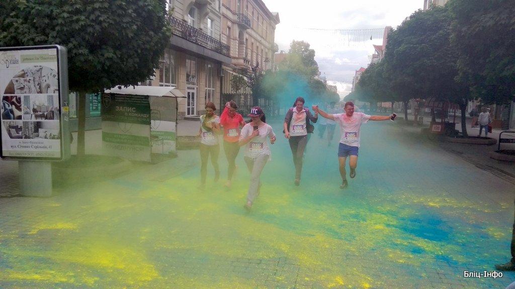 У Франківську кольорово розпочали святкування Дня молоді. ФОТО, фото-1