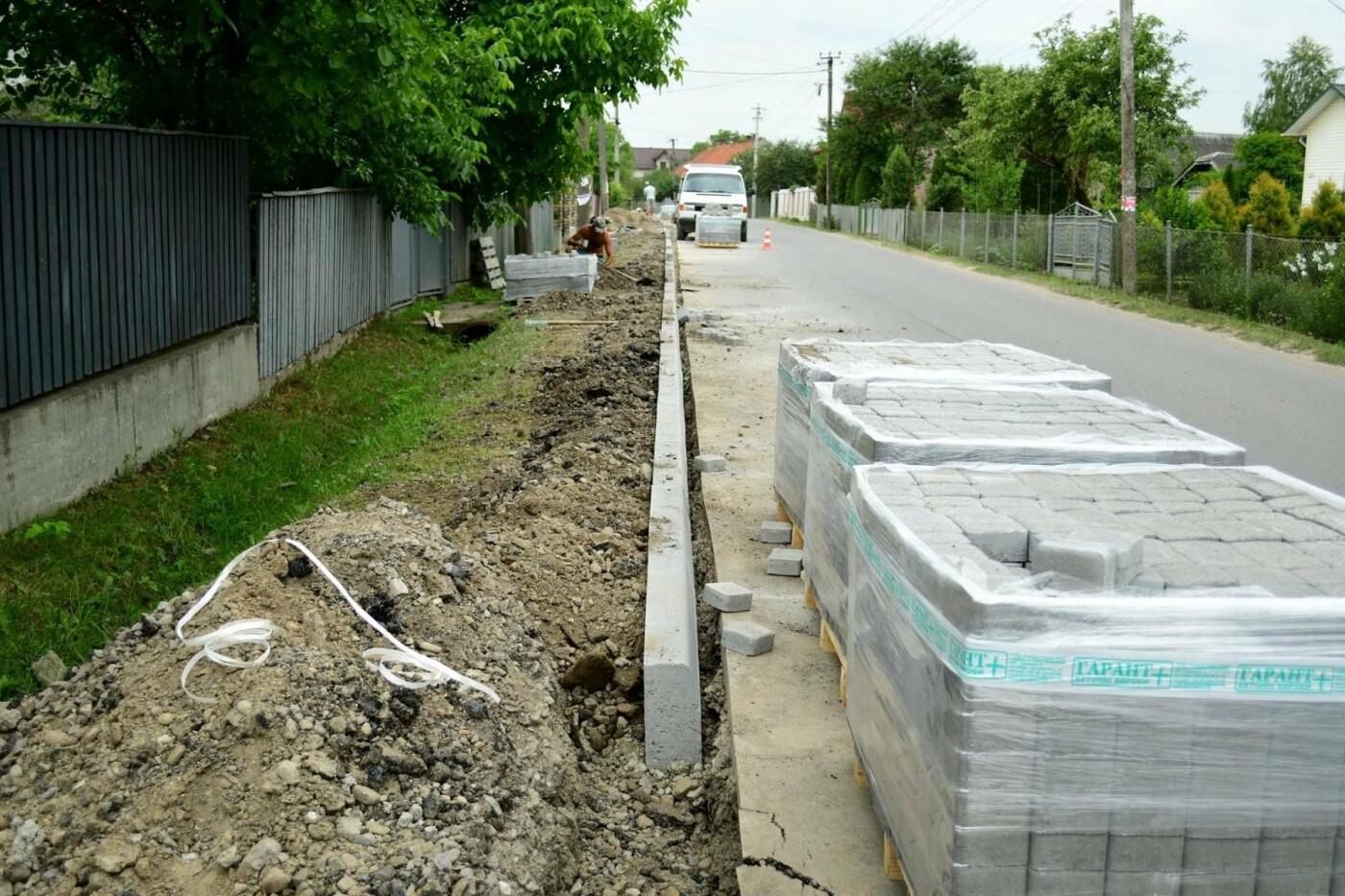 В Крихівцях та Вовчинці облаштовують тротуари. ФОТО, фото-9
