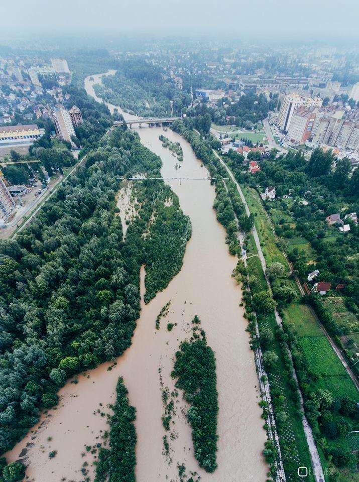 Бистриця Надвірнянська стала повноводною ФОТО, фото-9