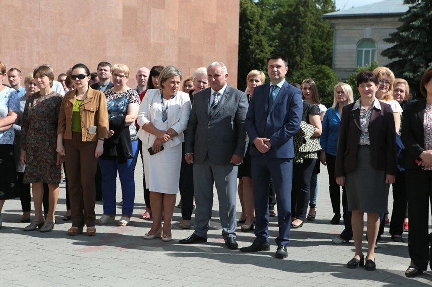 Прикарпатських поліцейських під Білим домом привітали із професійним святом. ФОТО, фото-7