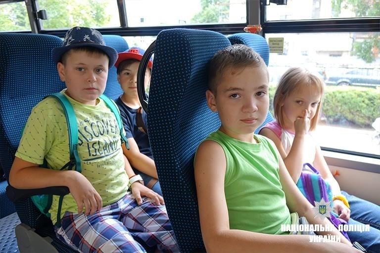 Діти прикарпатських поліцейських поїхали на оздоровлення до Чорного моря. ФОТО, фото-1