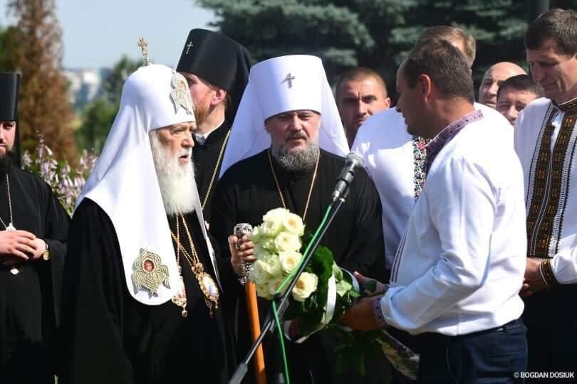 У Дем'яновому Лазі Патріарх Філарет вшанував пам'ять жертв політичних репресій. ФОТО, фото-1