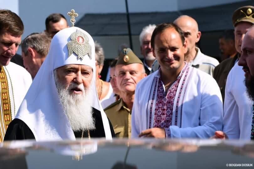 У Дем'яновому Лазі Патріарх Філарет вшанував пам'ять жертв політичних репресій. ФОТО, фото-2