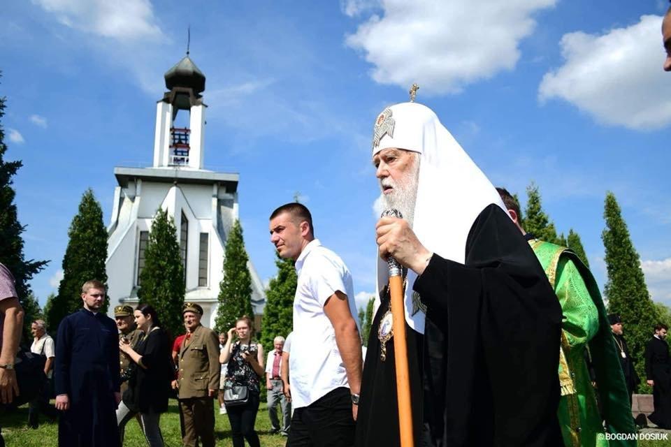 У Дем'яновому Лазі Патріарх Філарет вшанував пам'ять жертв політичних репресій. ФОТО, фото-3