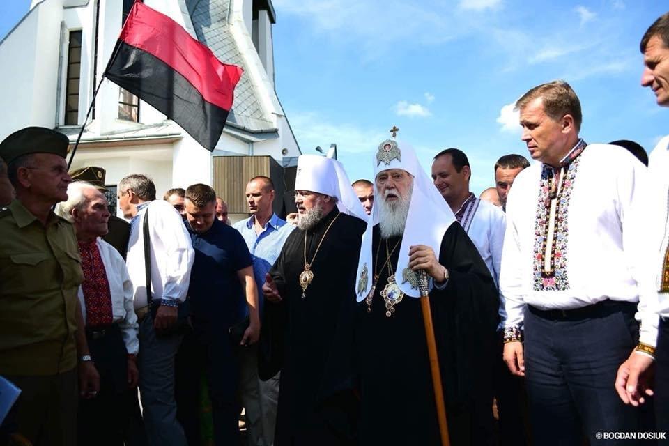 У Дем'яновому Лазі Патріарх Філарет вшанував пам'ять жертв політичних репресій. ФОТО, фото-4