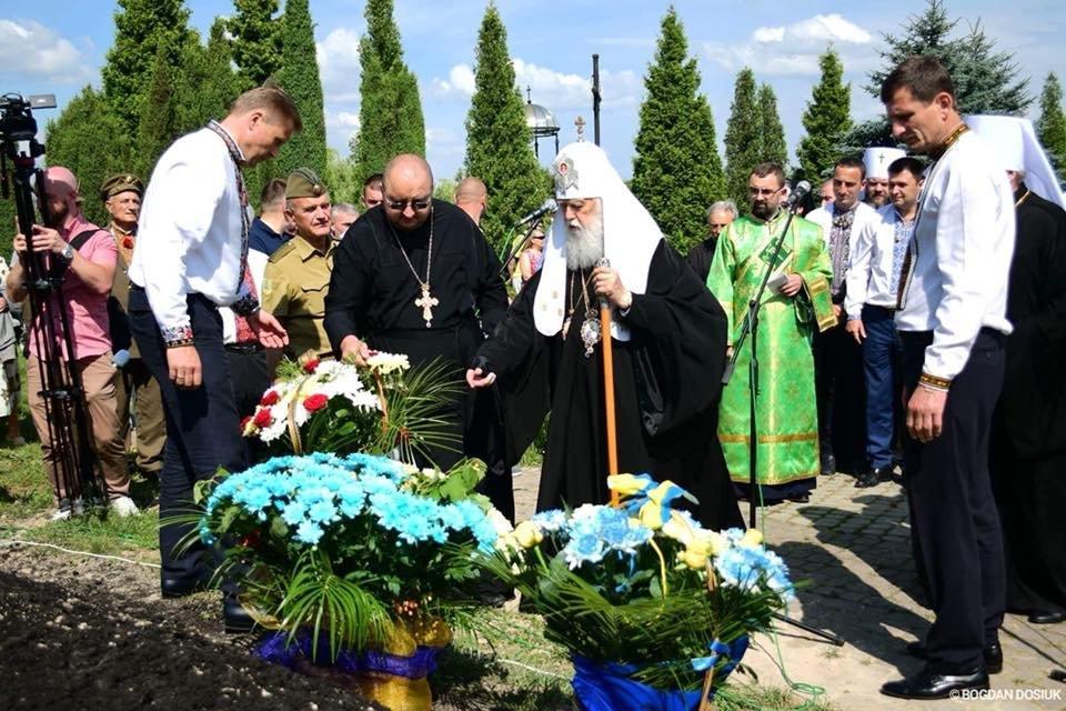 У Дем'яновому Лазі Патріарх Філарет вшанував пам'ять жертв політичних репресій. ФОТО, фото-5