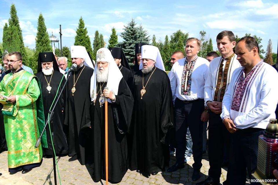 У Дем'яновому Лазі Патріарх Філарет вшанував пам'ять жертв політичних репресій. ФОТО, фото-7