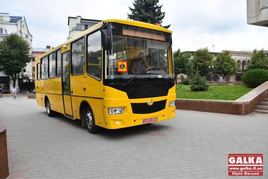 Райони та ОТГ Івано-Франківської області отримали нові шкільні автобуси. ФОТО, фото-3